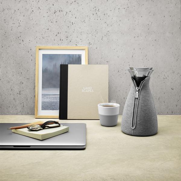 Eva Solo - Cafetière CafeSolo Tissé 1 l, gris clair