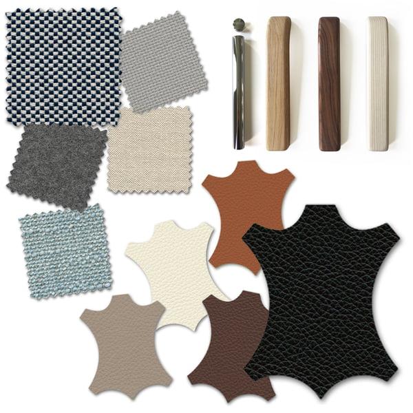Canapé Graphique 2 - Matériaux