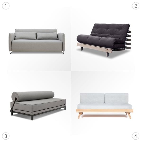 Canapé Graphique 3 - Canapés-lits